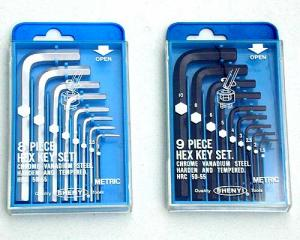 SY02-1 ~ 4 Short Arm Series Hex Key Set (Plastic Box)