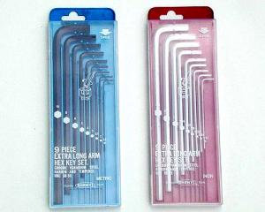 SY02-5 ~ 8 Extra Long Arm Series Hex Key Set(Plastic Box)