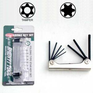 SY15-1~3 Folding Type Star Key Set